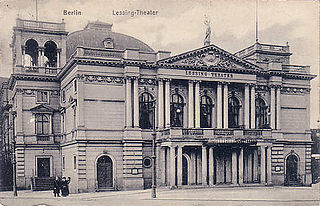 former theatre in Berlin, Germany