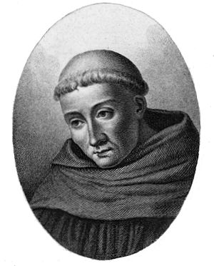 "Bernard of Clairvaux - St Bernard in ""A Short History of Monks and Monasteries"" by Alfred Wesley Wishart (1900)"