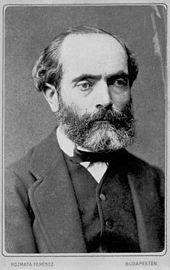 Cossmann in den 1870er Jahren (Quelle: Wikimedia)