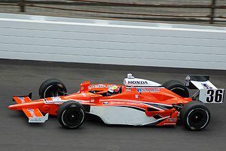 Enrique Bernoldi - Bernoldi practicing for the 2008 Indianapolis 500