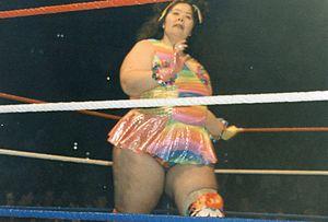 Rhonda Sing - Sing during her time in the WWF as Bertha Faye.
