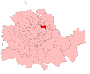 Bethnal Green South West by-election, 1911 - Bethnal Green South West in London 1911