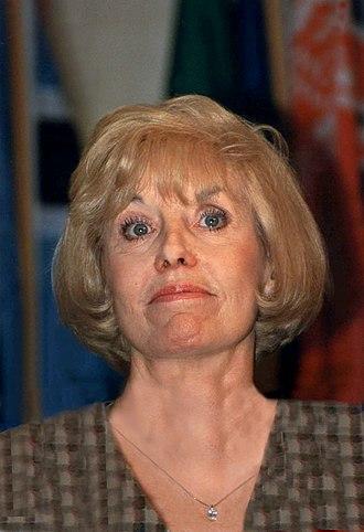 Betty Williams (Nobel laureate) - Williams in 1996