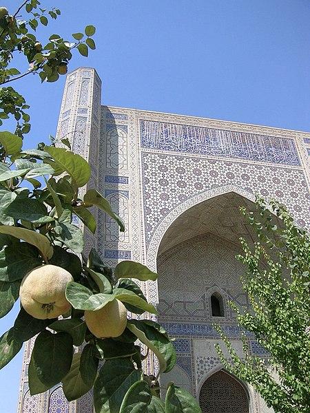 Fichier:Bibi-Khanym Mosque gate.jpg