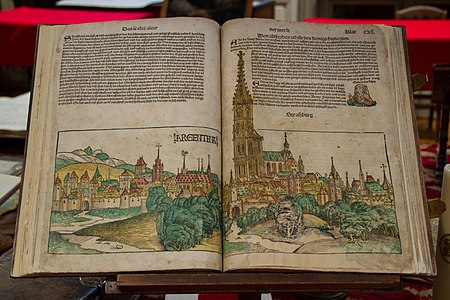 "Old edition of ""Nuremberg Chronicle"""