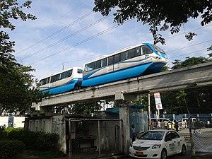 Bicutan Automated Guideway Transit System - Bicutan AGT System