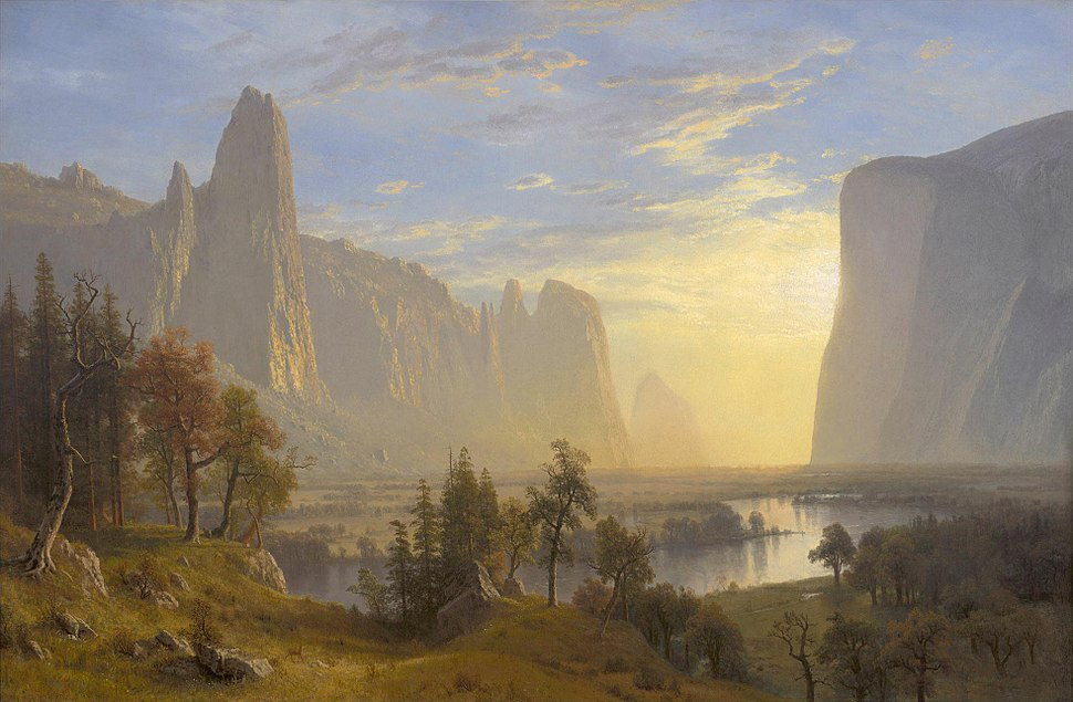 Bierstadt Albert - Yosemite Valley