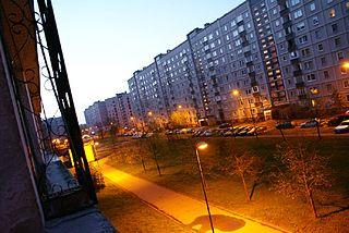 Zolitūde Neighborhood of Riga in Latvia