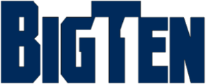 Logo of Big Ten Conference.