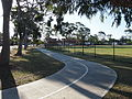 Bike path in Birrong Oct 2012.jpg