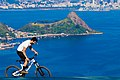 Bike rider in North Ramp of city park Niteroi 2.jpg