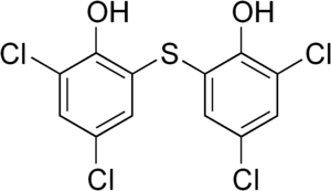 Bithionol - Image: Bithionol