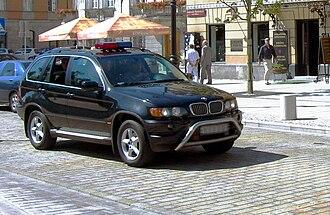Law enforcement in Poland - Biuro Ochrony Rządu presidential escort