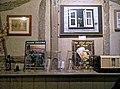 Black Horse Inn interior, Nuthurst West Sussex England, timber-frame wall and shelf 02.jpg