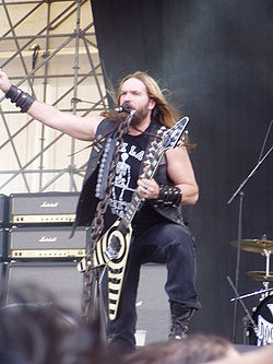 Zakk Wylde med Black Label Society 2007