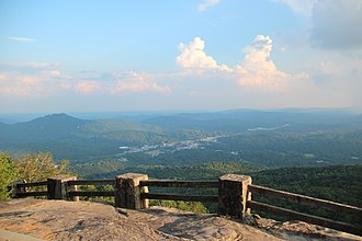 Black Rock Mountain State Park - View from Black Rock Mountain State Park