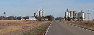 Bladen, Nebraska - Bladen, seen from the south along Spur 91A