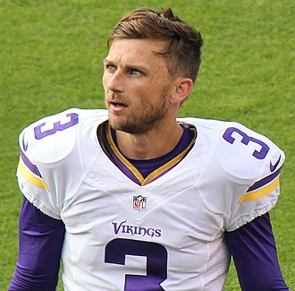 Blair Walsh - Blair Walsh with the Minnesota  Vikings in 2015