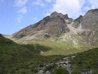 Blà Bheinn - Image: Blaven geograph