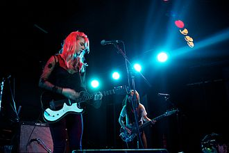 Bleached (band) - Bleached performing in London in 2013