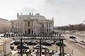 Blick von der Bel Etage des Café Landtmann auf das Burgtheater und den Universitätsring-0739.jpg