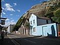 Blue House on Rock-A-Nore Road, Hastings, East Sussex - geograph.org.uk - 587513.jpg