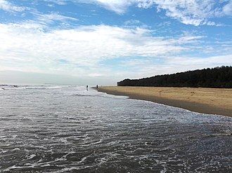 Eastern South Asia - The longest beach in the world is located in Cox's Bazaar