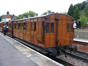 North & South (TV serial) - A Bluebell Railway carriage, similar to the one used on the final scene