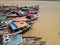 Boats on Hooghly River, Calcutta (8136072927).jpg