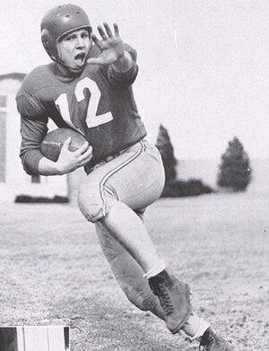 Bobby Reynolds (American football) - Reynolds from 1951 Cornhusker