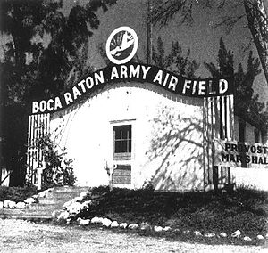 Boca Raton Army Air Field - Provost Office