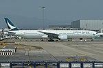 Boeing 777-367ER 'B-KQH' Cathay Pacific (46785812854).jpg