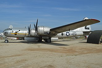 March Field Air Museum - B-29A Superfortress Three Feathers III