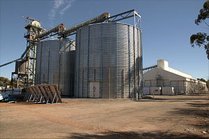 Bolgart, Western Australia - Image: Bolgart CBH, Western Australia