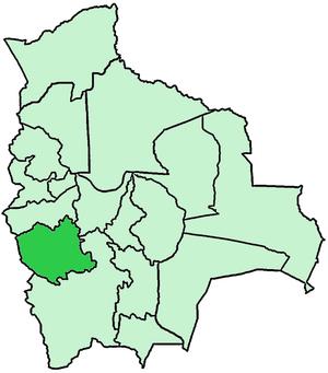 Roman Catholic Diocese of Oruro - Image: Bolivia Diocesi di Oruro