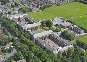 Bolton School - Aerial photo of the school (2010)