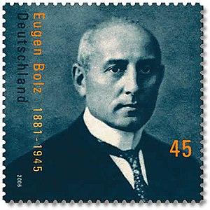 Eugen Bolz - Image: Bolz stamp