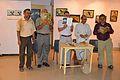 Booklet Release - Inaugural Function - Atanu Ghosh Solo Exhibition - Kolkata 2014-09-16 8064.JPG