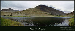 Borith Lake - Panorama of Borith Lake