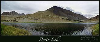 Borith Lake - Panorama of Borith Lake