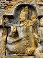 Borobudur - Lalitavistara - 002 E, Bodhisattva's Announcement that he will be Reborn on Earth (detail 3) (11248197473).jpg