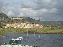Il castello e la città vecchia di Bosa.