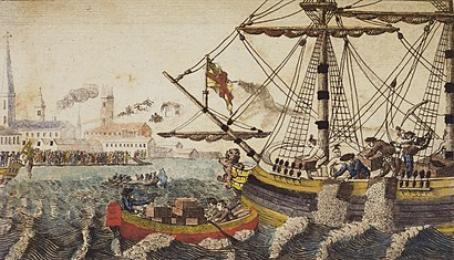 How to get to Boston Tea Party - Ships And Museum with public transit - About the place