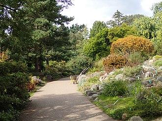 Aarhus Botanical Gardens - Image: Botanisk Have (stenpartiet)