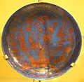 Bowl with a tree, Iran, Mashhad, late 17th century, lustre-painted stonepaste - Royal Ontario Museum - DSC04712.JPG