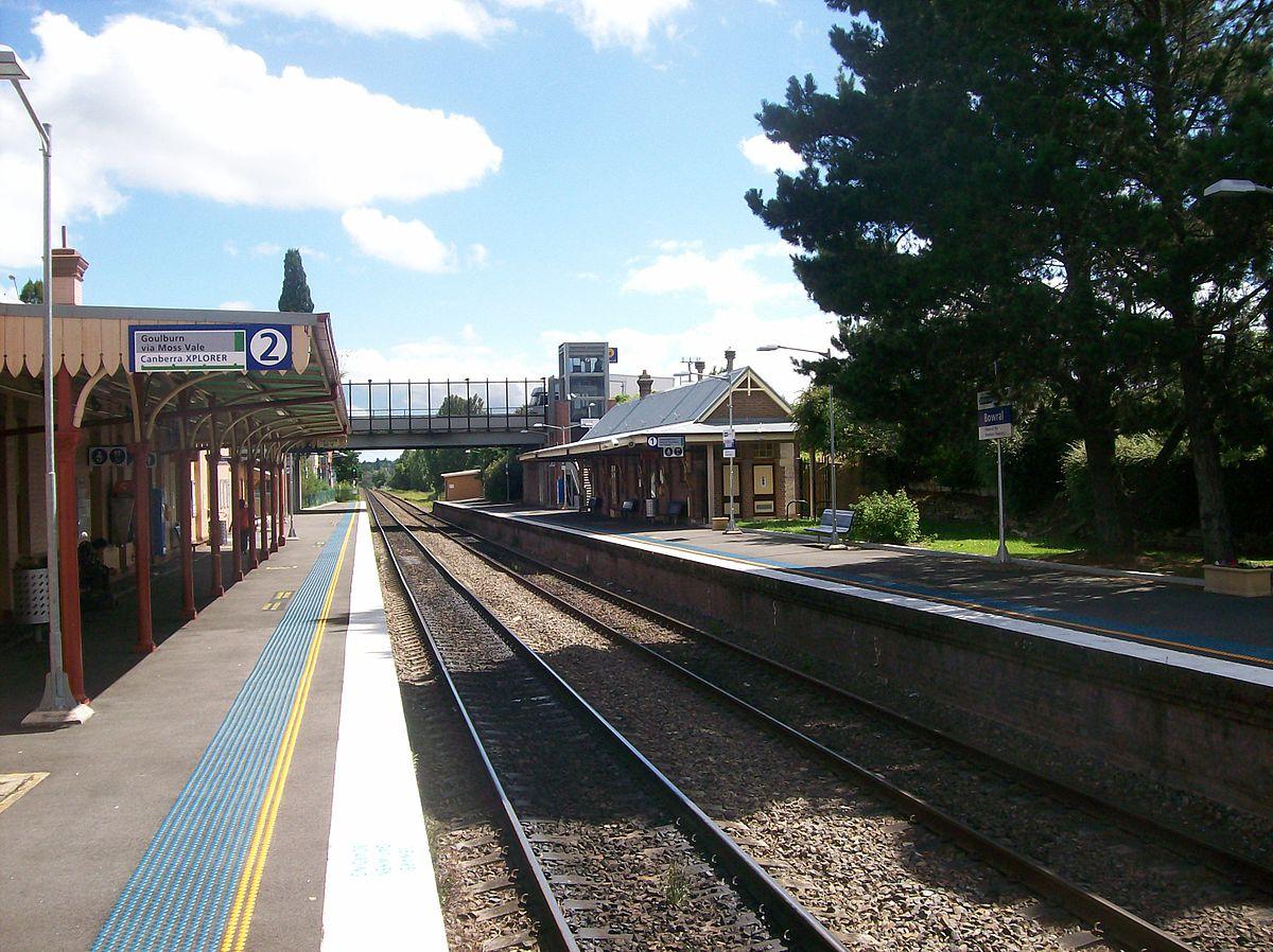 Bowral railway station - Wikipedia