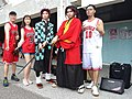 Boy, Lily Cao, Dabao Lin and Demon Slayer cosplayers 20200704d.jpg