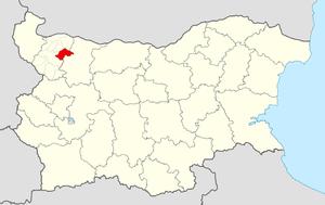 Boychinovtsi Municipality - Image: Boychinovtsi Municipality Within Bulgaria