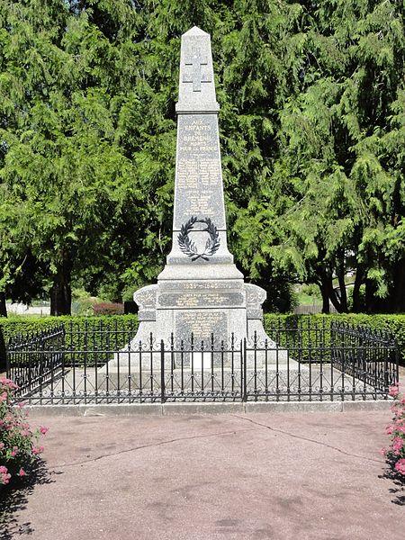 Bréménil (M-et-M) monument aux morts