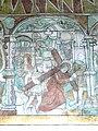 Brøns kirke - Wandmalerei 8 - Kreuztragung.jpg